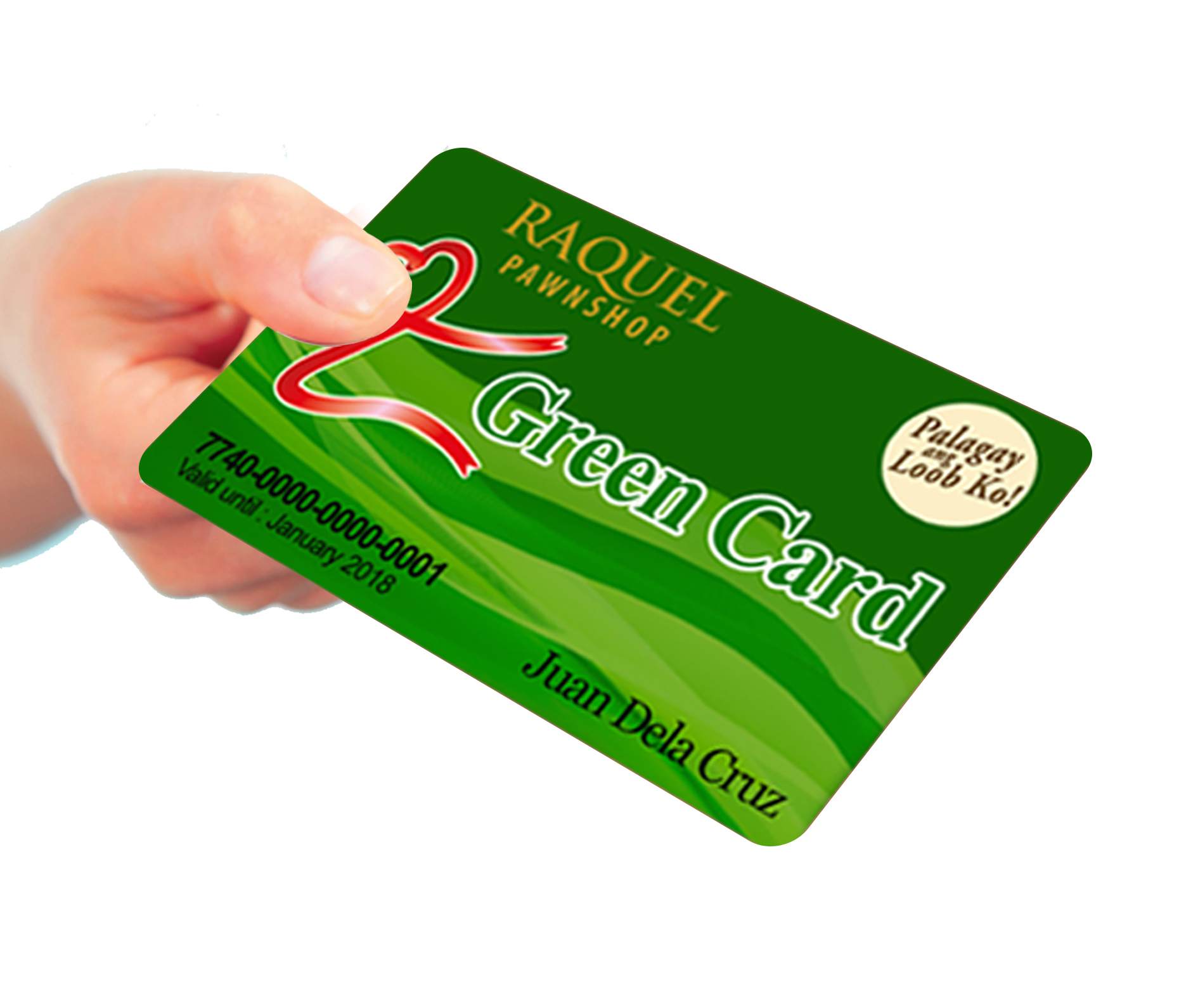 Raquel Pawnshop to Unveil Green Card in 2017